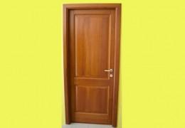 porta interna in legno massello